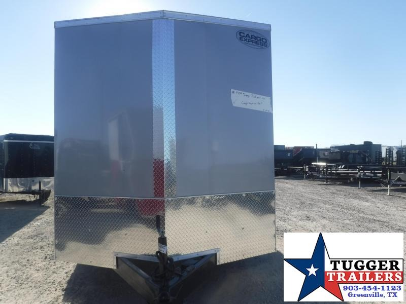 2021 Cargo Express 7x14 14ft Utility Sport Work Side Toy Lawn Move Enclosed Cargo Trailer