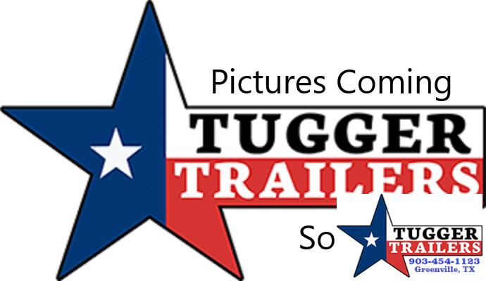 2021 Texas Pride Trailers 7x14 14ft US Built Utility Open Work Construction Dump Trailer
