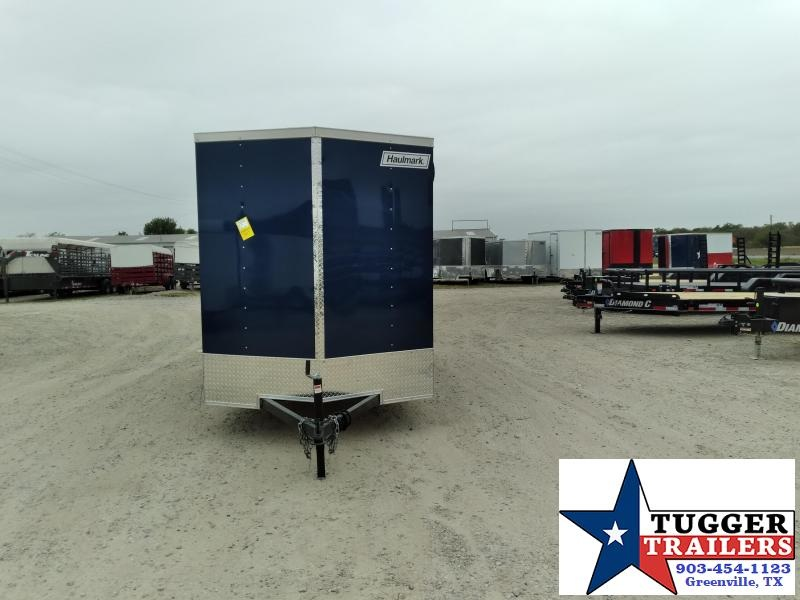 2021 Haulmark 6x12 12ft Passport V-Nose Utility Box Travel Work Enclosed Cargo Trailer
