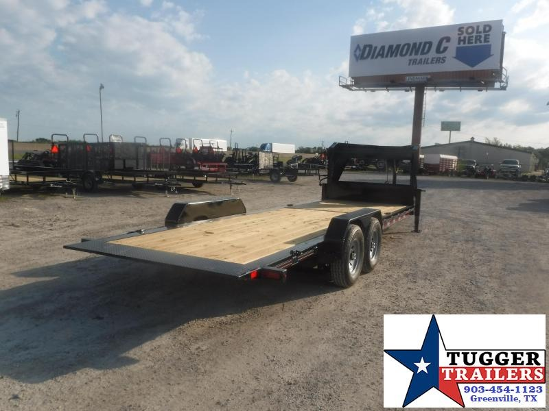 2020 Diamond C Trailers 82x24 24ft HDT Utility Work Farm Heavy Duty Toy Equipment Trailer
