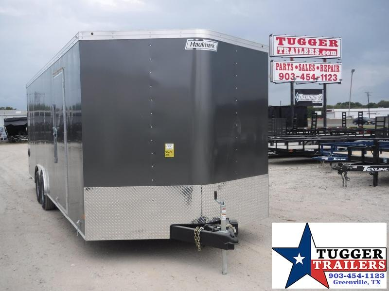 2020 Haulmark 8.5x24 24ft Charcoal Transport Auto Mobile Cargo Car / Racing Trailer
