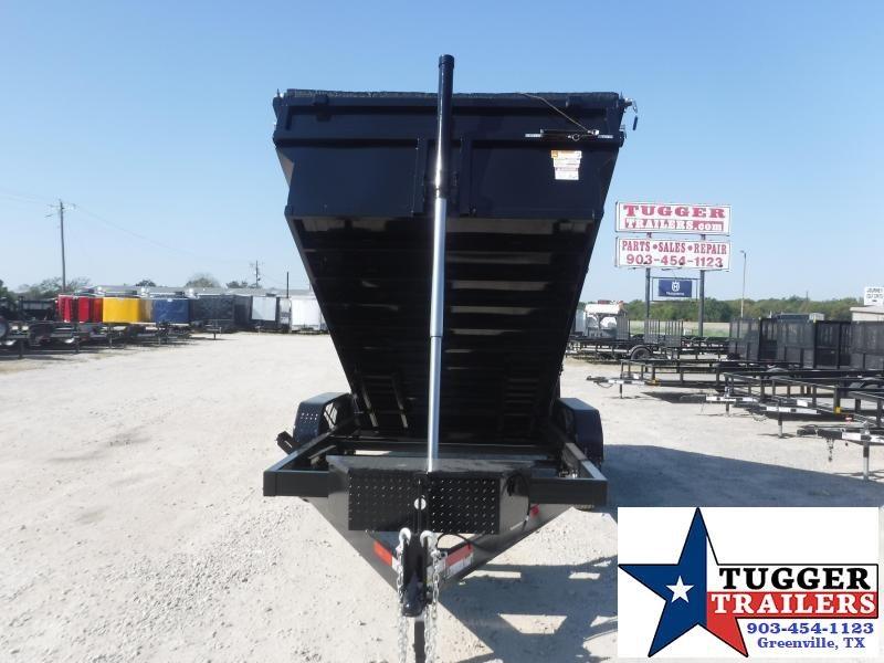2022 Texas Pride Trailers 7x14x3 DT71414KBP Dump Trailer