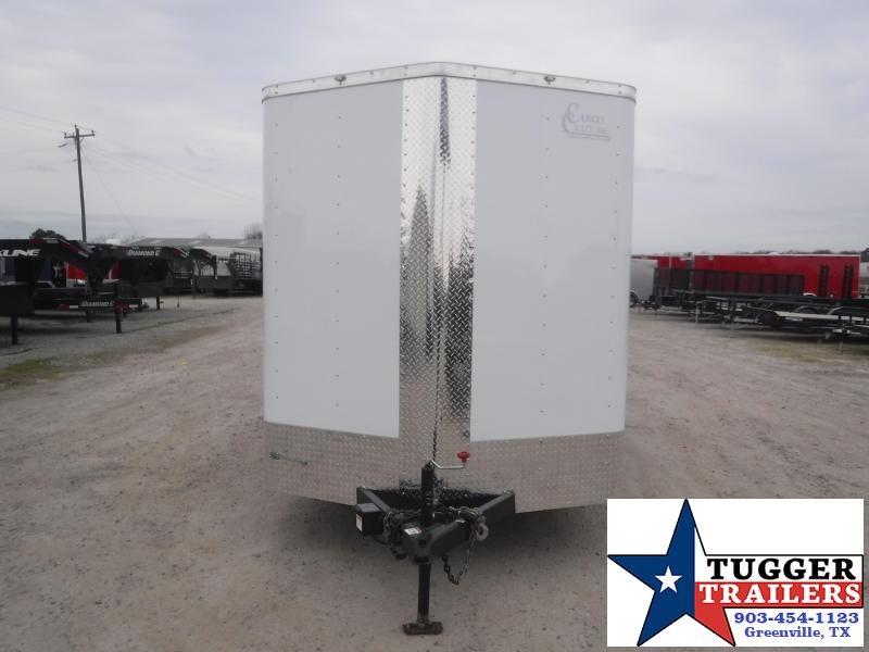 2021 Cargo Craft 7x14 14ft 2' V-Nose Utility Tool Work Landscape Enclosed Cargo Trailer