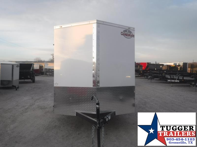2021 Cargo Mate 6x10 10ft Utility Ramp Sport Move Travel Bike Toy Enclosed Cargo Trailer