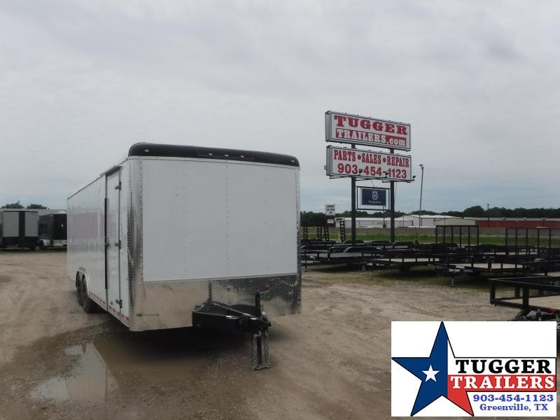 2021 Cargo Craft 8.5x24 24ft Utility Cargo Enclosed Utility Work Car / Racing Trailer