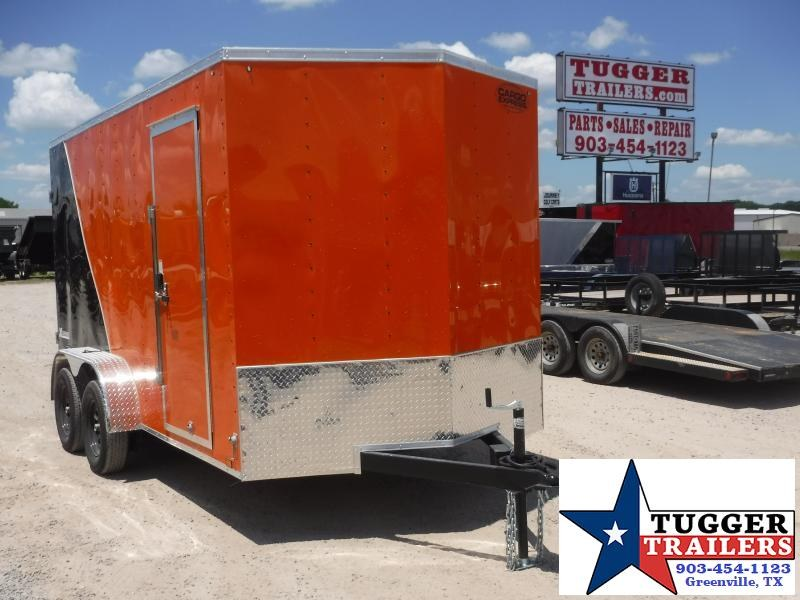 2021 Cargo Express 7x14 14ft Box Utility Bike Toy ATV Side Four Camp Enclosed Cargo Trailer