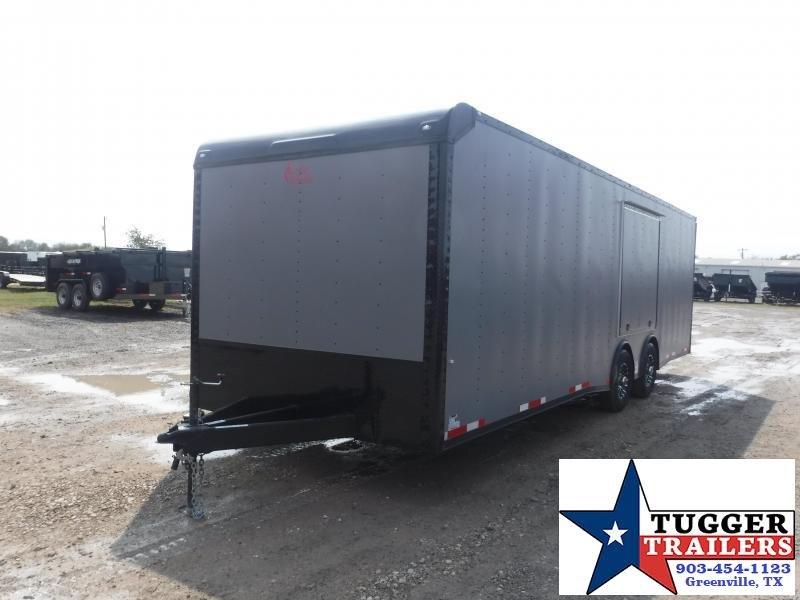 2021 Cargo Craft 8.5x28 Flat Top Auto Carrier Car / Racing Trailer