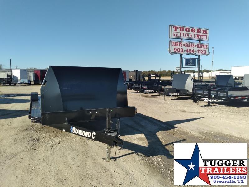 2021 Diamond C Trailers 22x82 GSF Steel Floor Flatbed Work Equipment Car / Racing Trailer