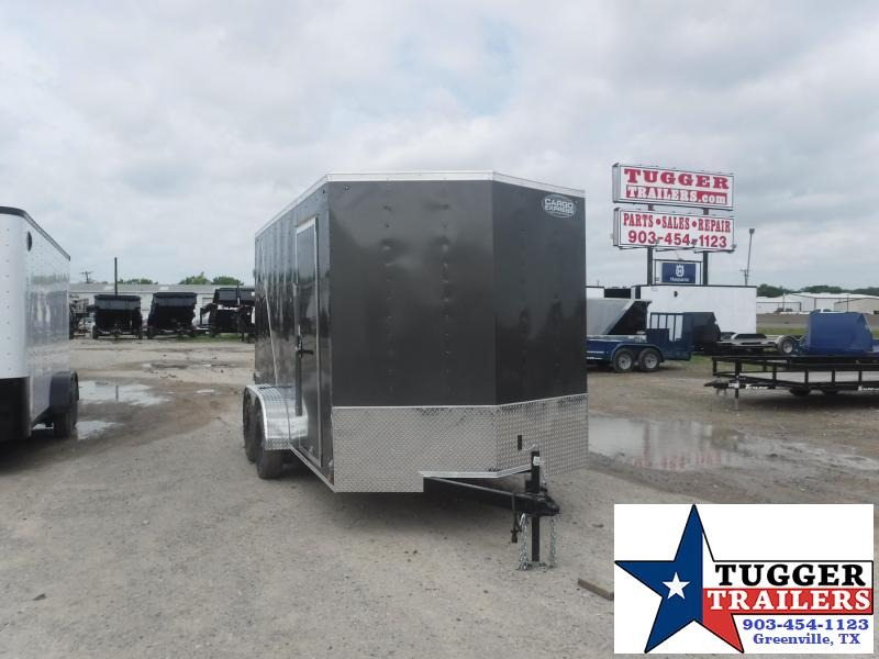 2020 Cargo Express 7x14 14ft Utility Box Work Equipment Tool Move Enclosed Cargo Trailer