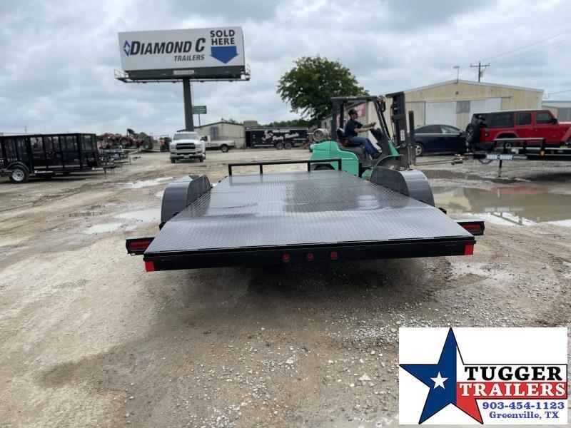 2021 Buck Dandy CAR HAULER Flatbed Trailer