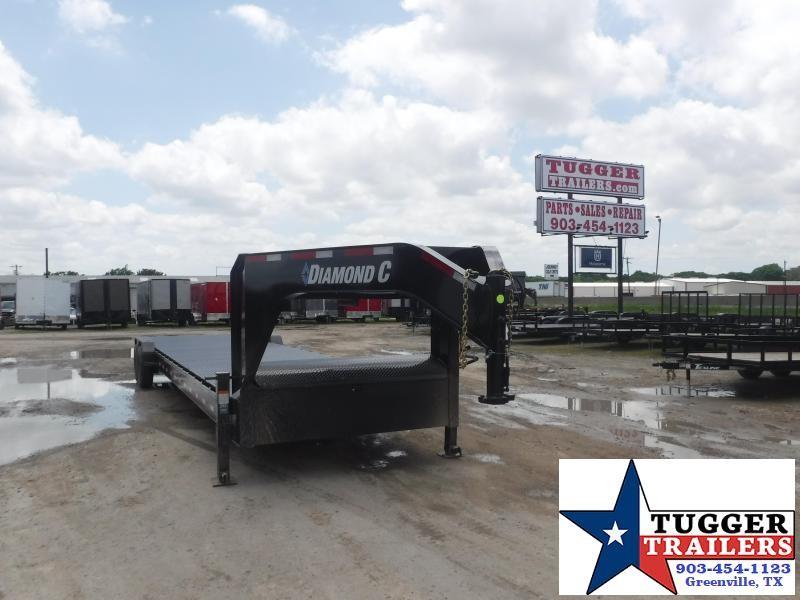2021 Diamond C Trailers 82x38 38ft Equipment Heavy Duty Steel Flatbed Trailer