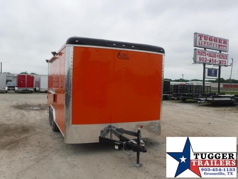 2021 Cargo Craft 8.5x16 16ft Cargo Enclosed Street Food Taco BBQ Vending / Concession Trailer