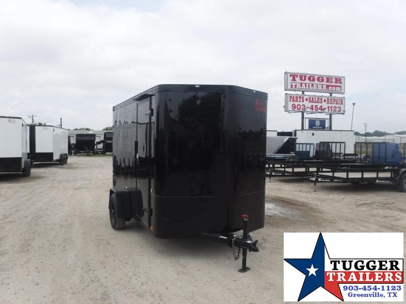 2020 Cargo Craft 6x10 10ft Elite Flat Front Box Utility Work Bike Enclosed Cargo Trailer