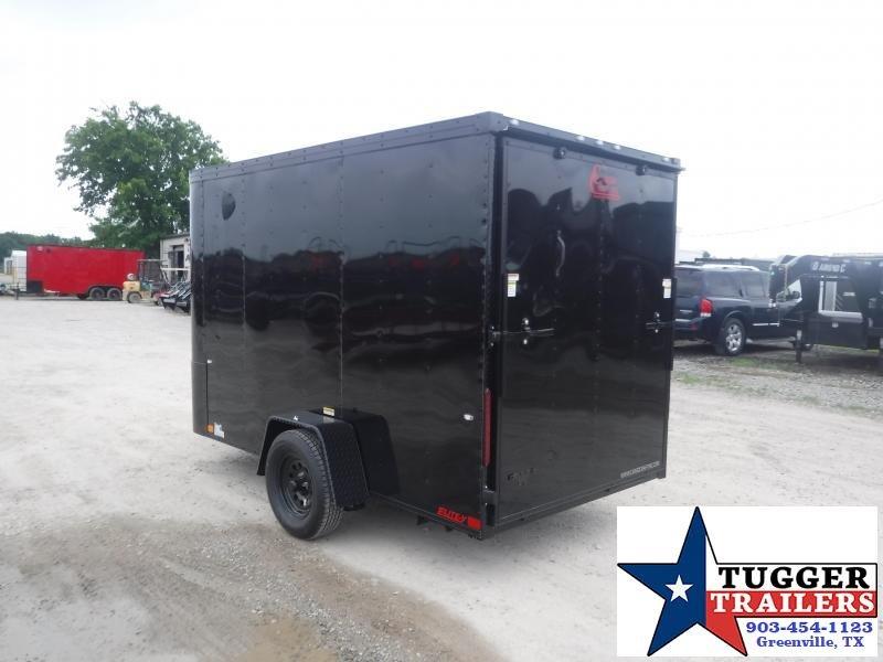 2020 Cargo Craft 6x10 10ft Elite Flat Front Box Utility Work Bike Enclosed Cargo Trailer