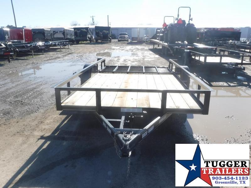 2021 Buck Dandy 83x14 14ft Side Toy Work Open Tool Farm Equipment Utility Trailer