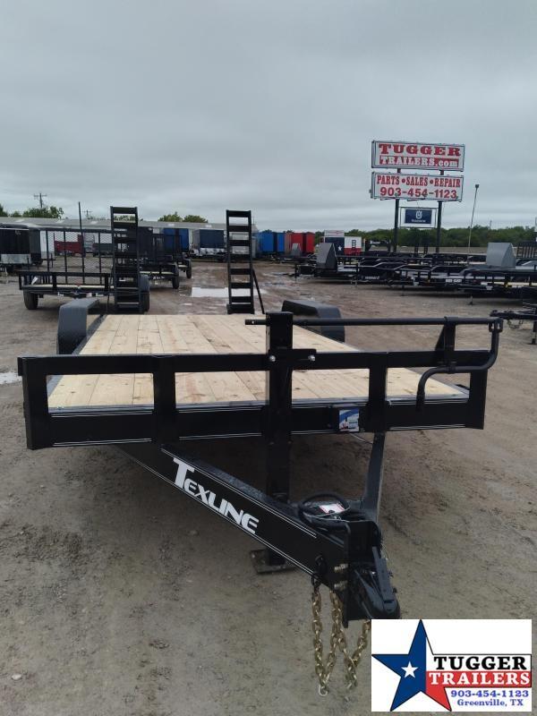 2020 TexLine 83x20 20ft Bobcat Heavy Duty Farm Utility Open Equipment Trailer