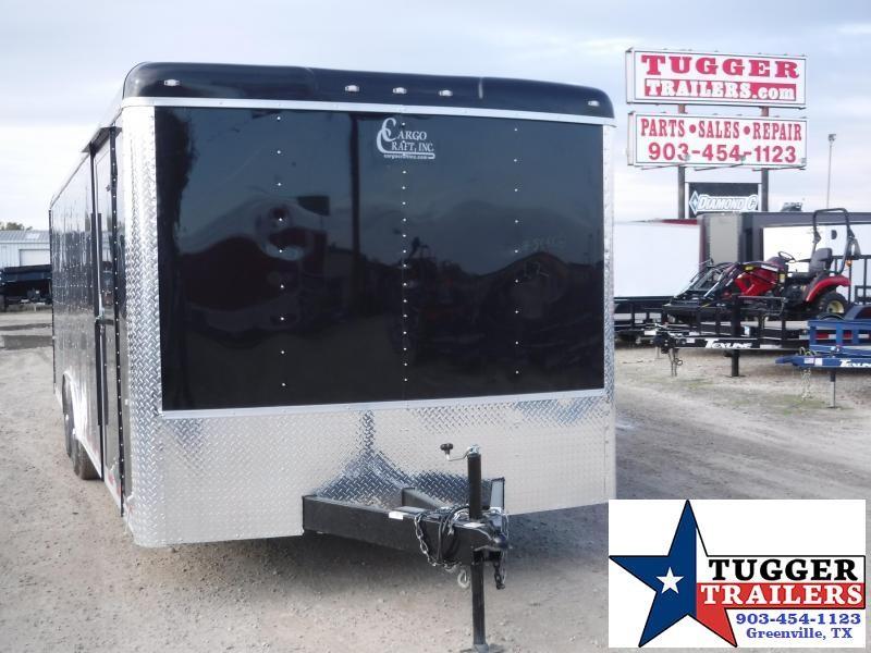"""2020 Cargo Craft 8.5'X24"""" Auto Enclosed Cargo Trailer"""