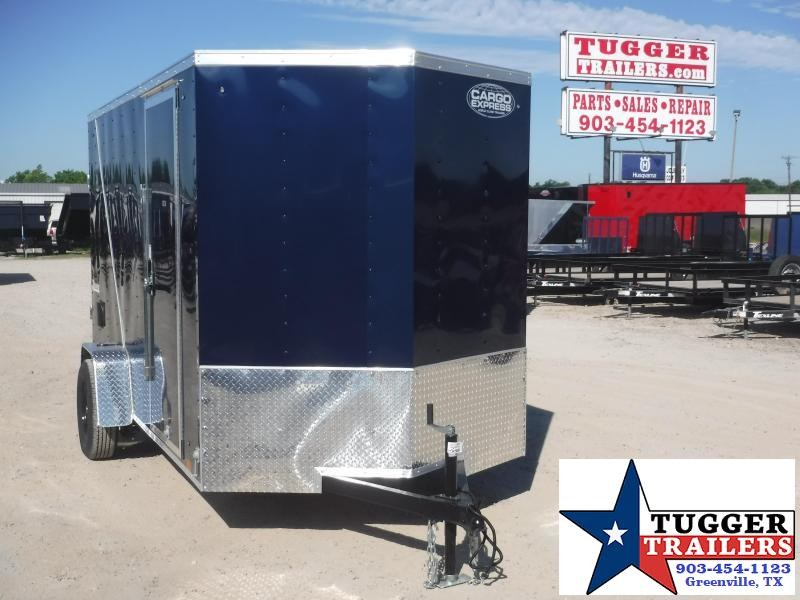 2021 Cargo Express 6x12 12ft V-Nose Utility Box Toy Tool Work Lawn Enclosed Cargo Trailer