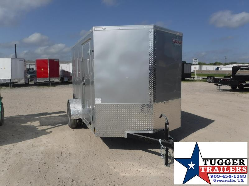 2021 Cargo Mate 6x10 10ft Work Tool Mow Band Sport Camp Utility Enclosed Cargo Trailer