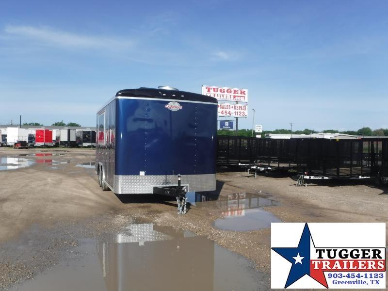 2021 Cargo Mate 8.5x16 16ft Cargo Enclosed Street Taco BBQ Food Vending / Concession Trailer