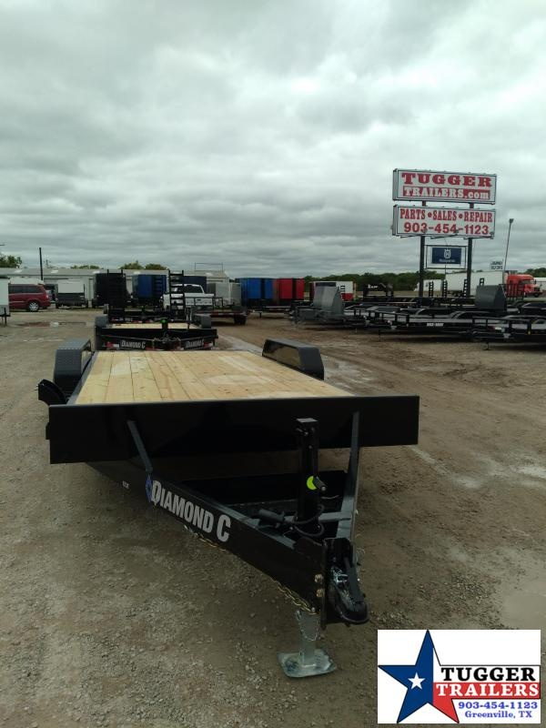 2021 Diamond C Trailers 82x18 18ft EQT Steel Construction Bobcat Heavy Equipment Trailer