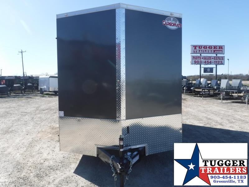 2021 Cargo Mate 7x16 16ft Utility Tool Side Hunt Move Camp Work Enclosed Cargo Trailer