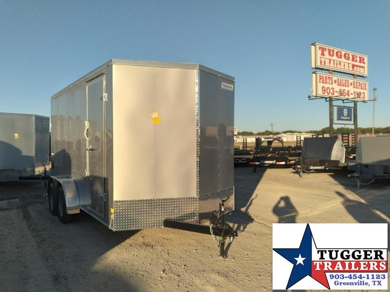 2021 Haulmark 7x14 14ft Passport Utility Toy Office Side Work Enclosed Cargo Trailer