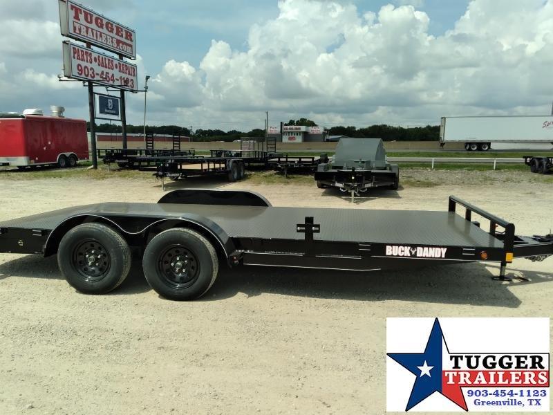 2020 Buck Dandy 83x18 18ft BCH Utility Flatbed Auto Classic Haul Car / Racing Trailer