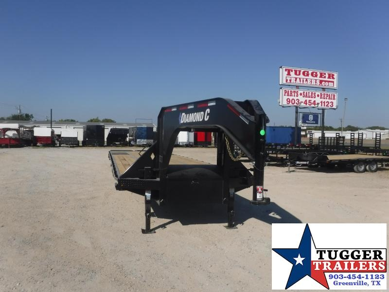 2020 Diamond C Trailers 102x40 40ft Equipment Work Construction Farm Car Flatbed Trailer