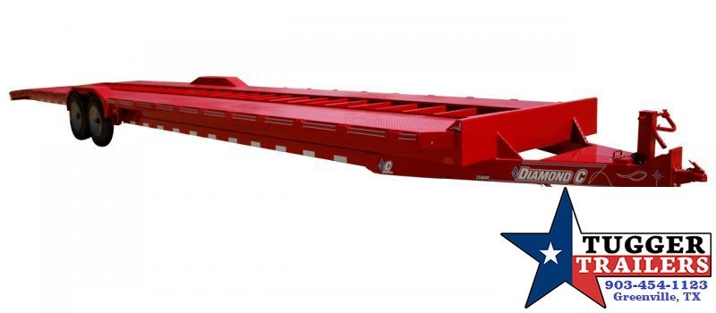 2021 Diamond C Trailers 2021 MVC Open Utility Gooseneck Flatbed Auto Car / Racing Trailer