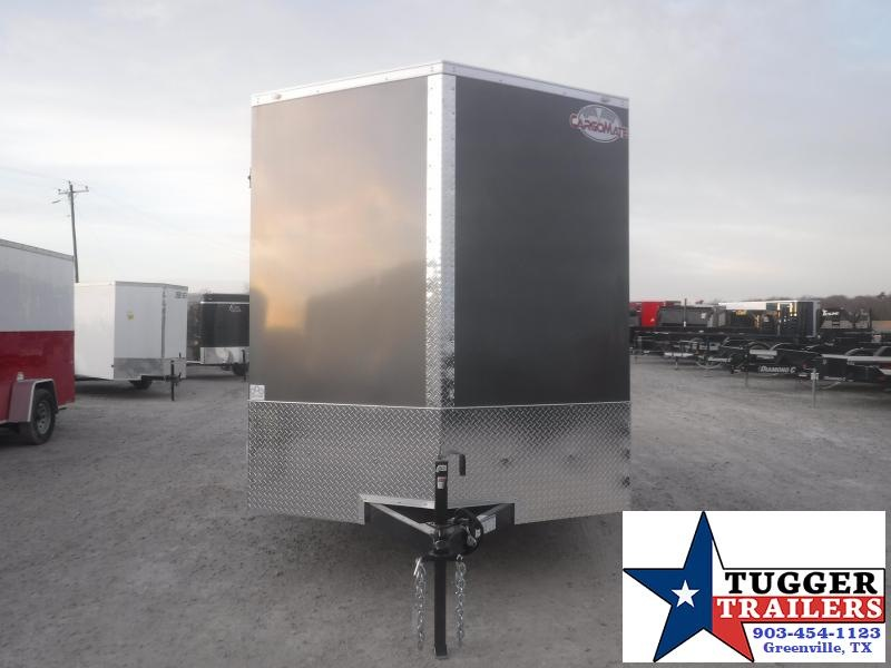 2021 Cargo Mate 7x12 12ft Utility Toy Side Work Lawn Tailgate ATV Enclosed Cargo Trailer