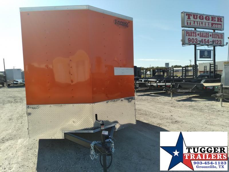 2021 Cargo Express 7x16 16ft V-Nose Band Sport Camp Hunt Work Land Enclosed Cargo Trailer