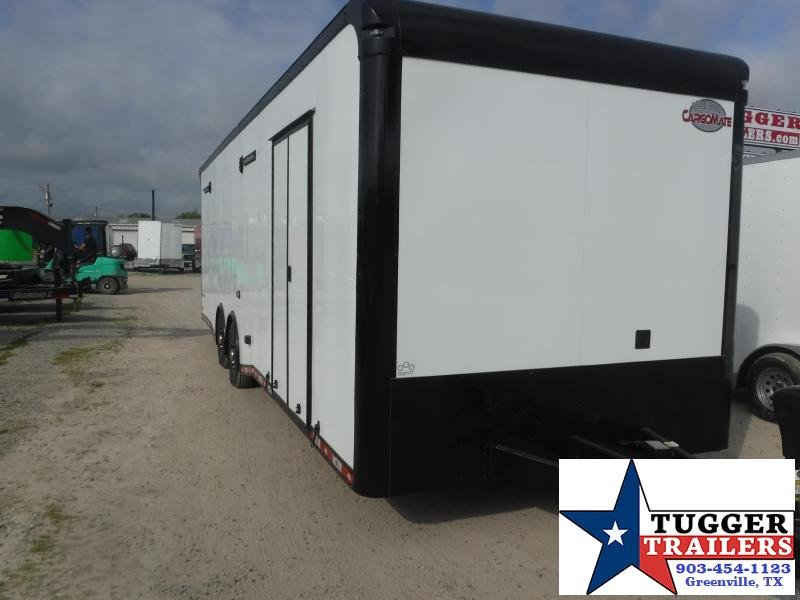 2021 Cargo Mate 8.5x28 28ft Black Out Classic Cargo Enclosed Show Car / Racing Trailer