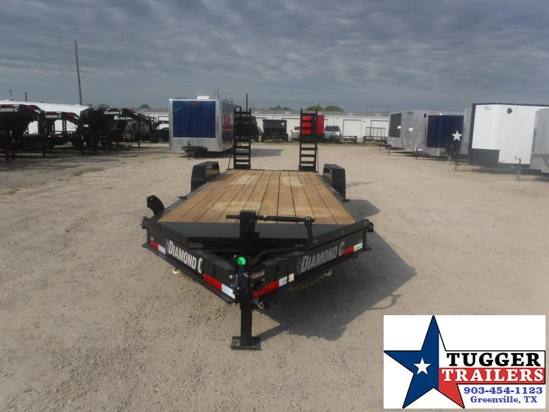 2020 Diamond C Trailers 82x24 24ft Flatbed Utility Steel Heavy Duty Work Equipment Trailer