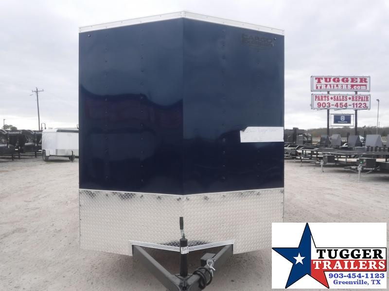 2021 Cargo Express 7x16 16ft V-Nose 2 Toned Utility Work Tailgate Enclosed Cargo Trailer