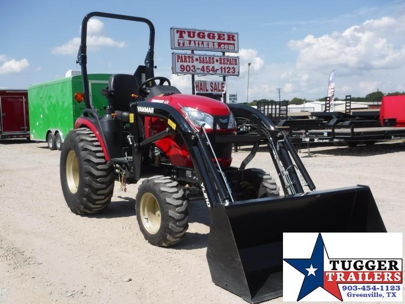 2020 Yanmar SA 424 DIESEL Tractor With Loader