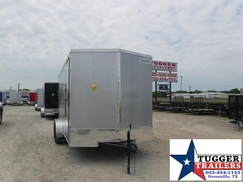 2021 Haulmark 7x16 16ft Utility Tool Work Side Toy Camp Move Enclosed Cargo Trailer