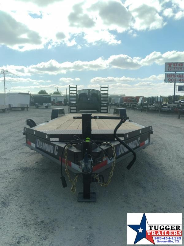 2021 Diamond C Trailers 82x24 24ft LPX Flatbed Utility Open Work Tractor Equipment Trailer