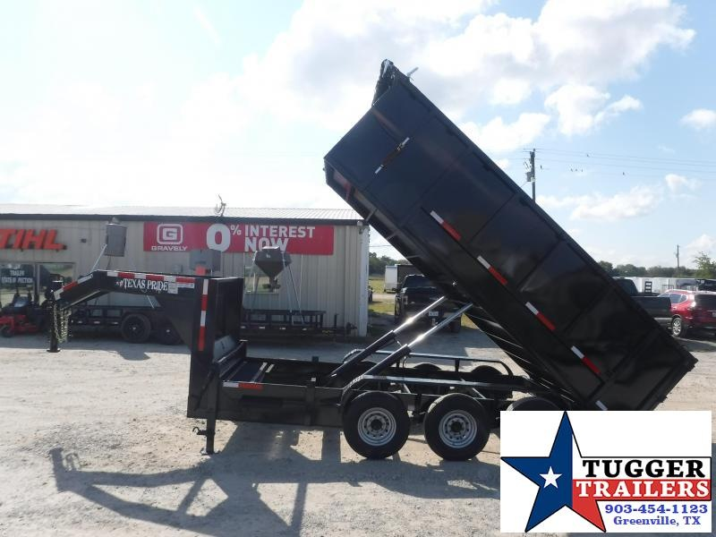 2022 Texas Pride Trailers 7x16x4 DT1621KGN Dump Trailer