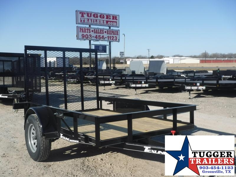 2021 TexLine 5x8 8ft Move Travel Open Small Toy Work Tool Farm Utility Trailer