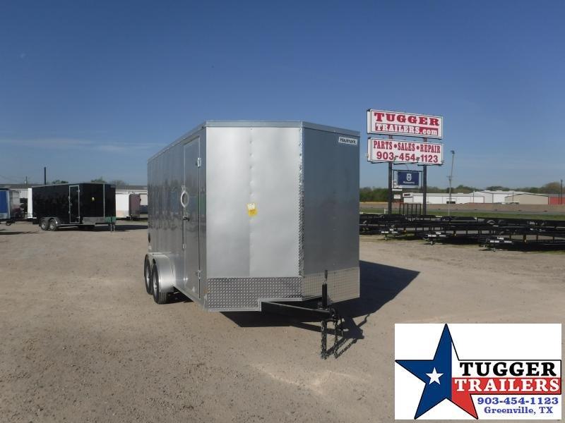 2021 Haulmark 7x16 16ft Toy Utility Work Hunt Enclosed Box Work Enclosed Cargo Trailer