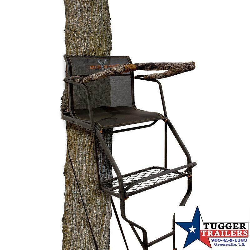 "2021 Big Game Riflemaster 1.5 18.5"" Ladder Stand"