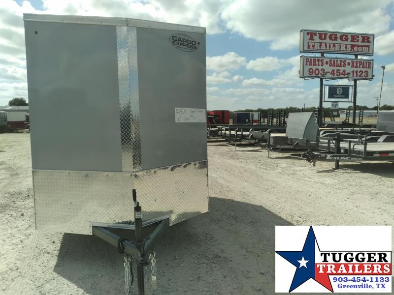 2021 Cargo Express 6x10 10ft  Auto Toy SideCar Classic Race  Mobile Enclosed Utility Trailer