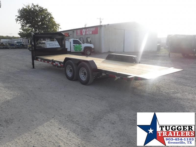 2021 Diamond C Trailers 82x24 Dampened Tilted Trailer with Frame Flatbed Trailer