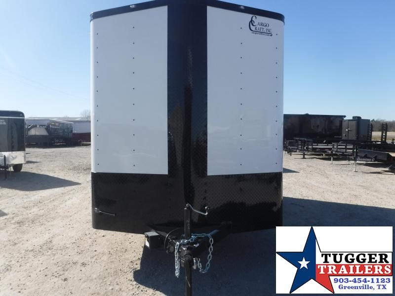 2021 Cargo Craft 7x14 14ft Utility Black Out Sport Side Tool Work Enclosed Cargo Trailer