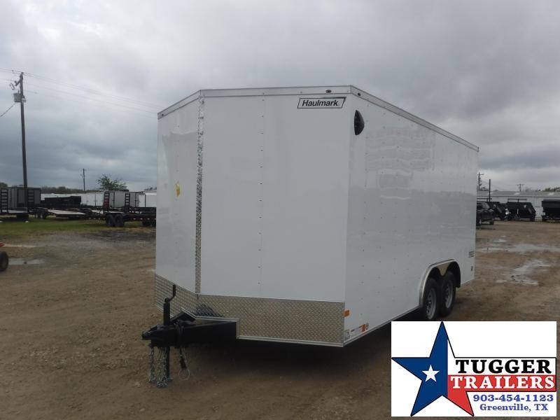 2022 Haulmark 8.5x16 V-Nose Enclosed Cargo Trailer