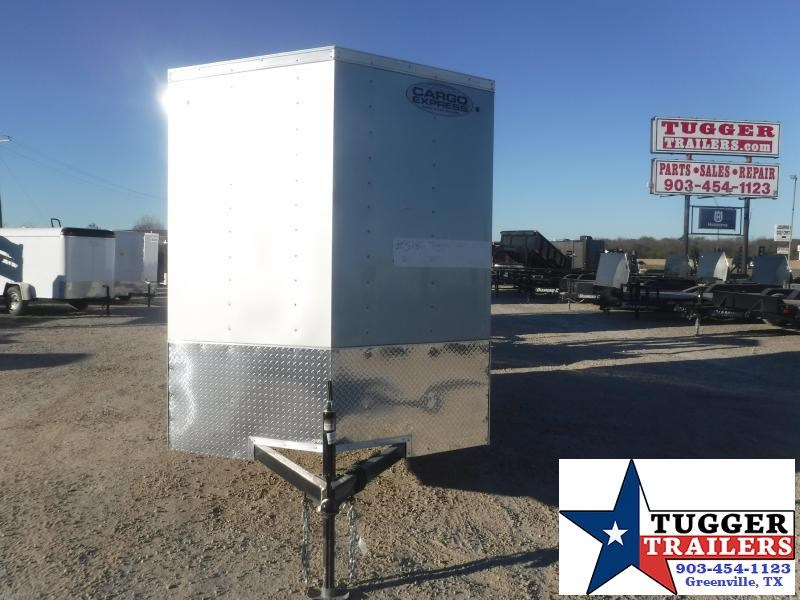 2021 Cargo Express 6x12 12ft V-Nose Move Business Office Tools Store Enclosed Cargo Trailer