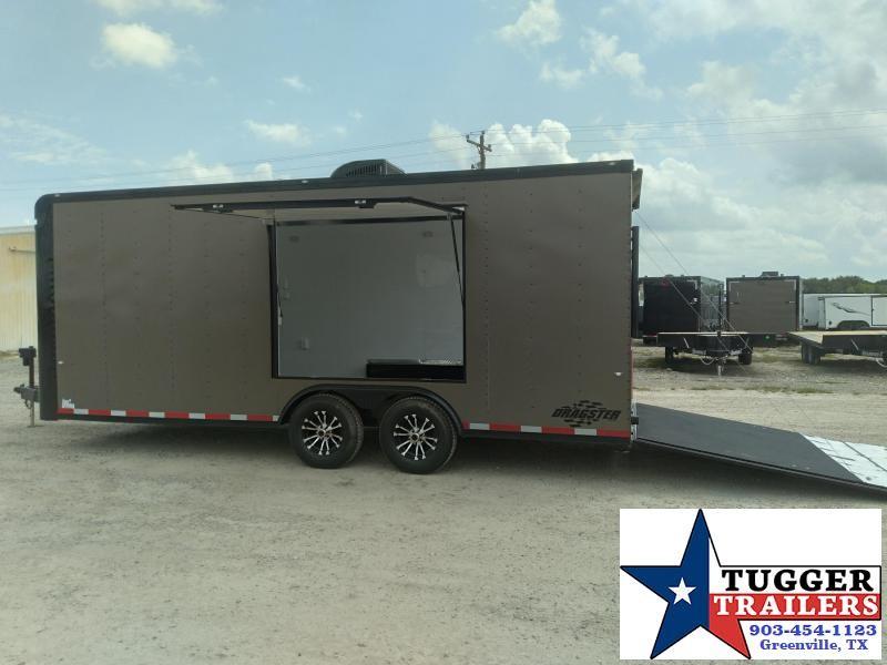 2020 Cargo Craft 8.5x20 20ft Spread Axle Black-Out Cargo Enclosed Car / Racing Trailer