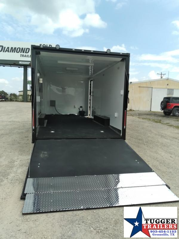 2020 Cargo Craft 8.5x20 20ft Spread Axle Black-Out Cargo Enclosed Car / Racing Trailer