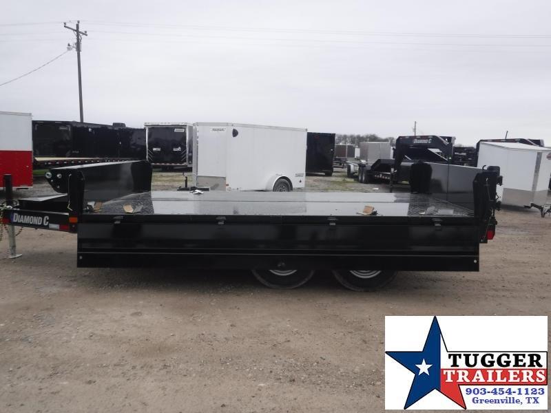 2021 Diamond C Trailers 96x14 14ft DOD Steel Heavy Duty Work Equipment Dump Trailer